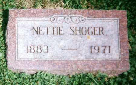 SHOGER, NETTIE - Mitchell County, Iowa | NETTIE SHOGER