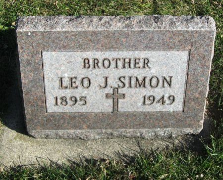 SIMON, LEO J. - Mitchell County, Iowa | LEO J. SIMON