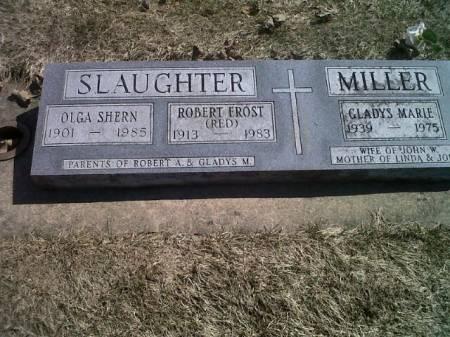 SHERN SLAUGHTER, OLGA - Mitchell County, Iowa   OLGA SHERN SLAUGHTER