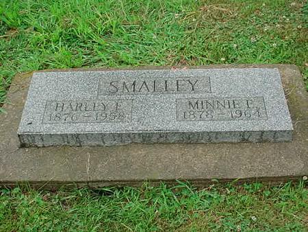 SMALLEY, MINNIE E. - Mitchell County, Iowa | MINNIE E. SMALLEY