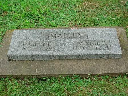 WARRINGTON SMALLEY, MINNIE E. - Mitchell County, Iowa | MINNIE E. WARRINGTON SMALLEY