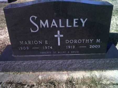 SMALLEY, MARION E. - Mitchell County, Iowa | MARION E. SMALLEY