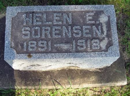 SORENSEN, HELEN E. - Mitchell County, Iowa | HELEN E. SORENSEN