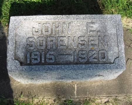 SORENSEN, JOHN E. - Mitchell County, Iowa | JOHN E. SORENSEN