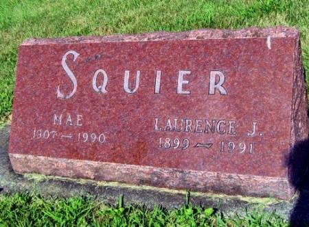 SQUIER, MAE - Mitchell County, Iowa | MAE SQUIER