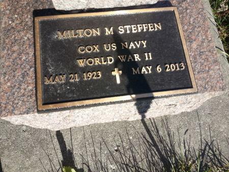 STEFFEN, MILTON M. (MIL) - Mitchell County, Iowa | MILTON M. (MIL) STEFFEN