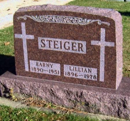 STEIGER, LILLIAN - Mitchell County, Iowa   LILLIAN STEIGER