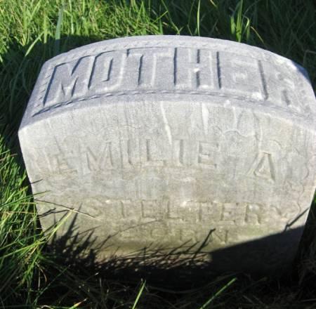 STELTER, EMILIE A. - Mitchell County, Iowa   EMILIE A. STELTER
