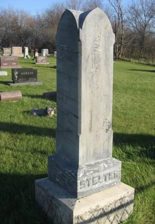 STELTER, WILHELM F. (FAMILYSTONE) - Mitchell County, Iowa | WILHELM F. (FAMILYSTONE) STELTER