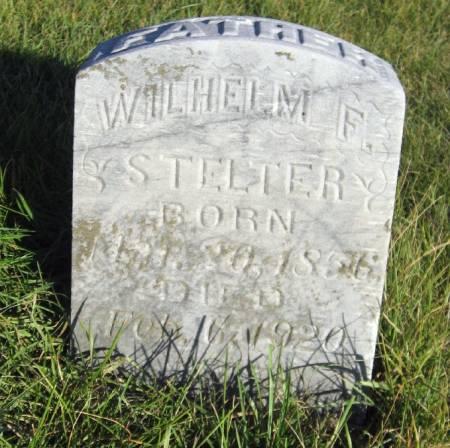 STELTER, WILHELM F. - Mitchell County, Iowa   WILHELM F. STELTER
