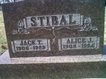 STIBAL, JACK T - Mitchell County, Iowa   JACK T STIBAL