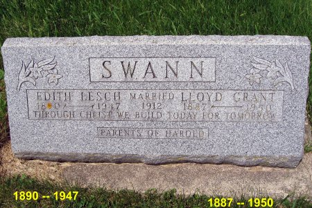 SWANN, EDITH - Mitchell County, Iowa | EDITH SWANN
