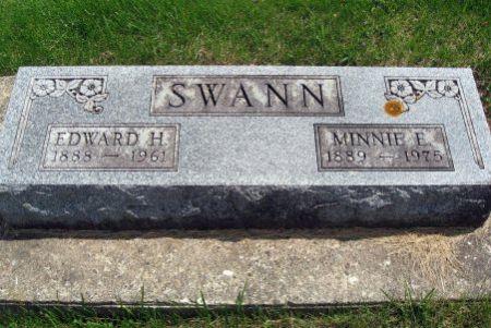SWANN, EDWARD H. - Mitchell County, Iowa   EDWARD H. SWANN