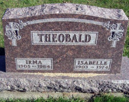 THEOBALD, IRMA - Mitchell County, Iowa   IRMA THEOBALD