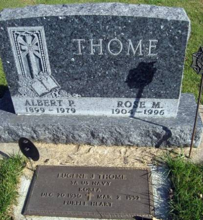 THOME, ALBERT (LOT) - Mitchell County, Iowa | ALBERT (LOT) THOME
