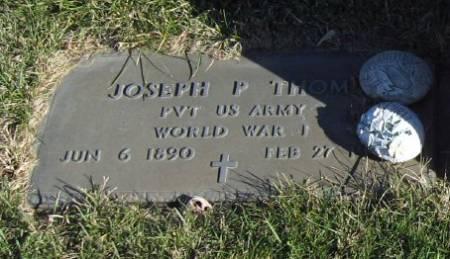 THOME, JOSEPH P. (MIL) - Mitchell County, Iowa | JOSEPH P. (MIL) THOME