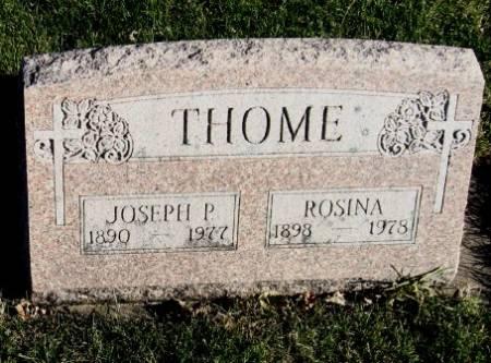 THOME, ROSINA - Mitchell County, Iowa | ROSINA THOME
