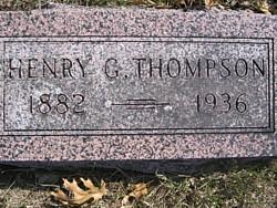 THOMPSON, HENRY G. - Mitchell County, Iowa | HENRY G. THOMPSON