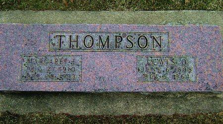 JACOBSON THOMPSON, MARGARET E. - Mitchell County, Iowa | MARGARET E. JACOBSON THOMPSON