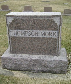 THOMPSON-MORK, THEODORE FAMILY STONE - Mitchell County, Iowa | THEODORE FAMILY STONE THOMPSON-MORK