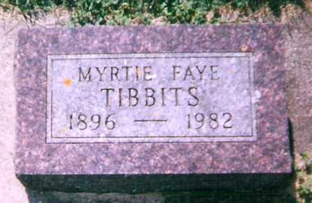 TIBBITS, MYRTIE - Mitchell County, Iowa   MYRTIE TIBBITS