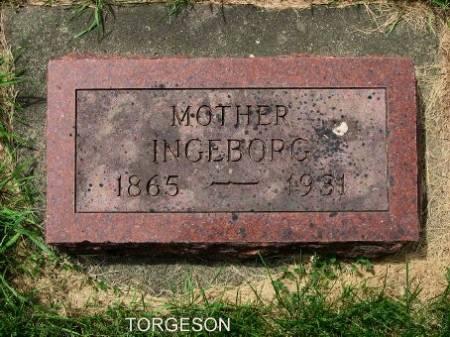 TORGESON, INGEBORG - Mitchell County, Iowa | INGEBORG TORGESON