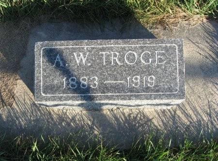 TROGE, ALBERT W. - Mitchell County, Iowa | ALBERT W. TROGE