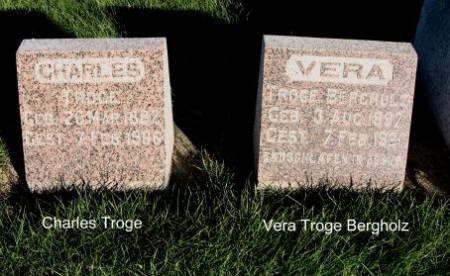 TROGE, VERA - Mitchell County, Iowa | VERA TROGE