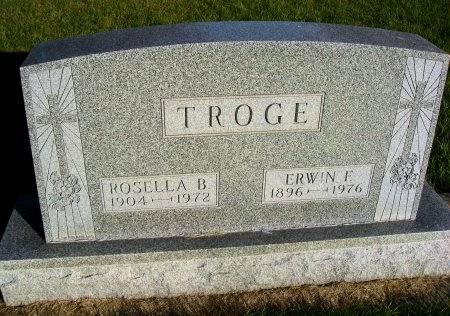 TROGE, ERWIN F. - Mitchell County, Iowa | ERWIN F. TROGE