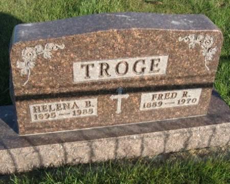 TROGE, HELENA B. - Mitchell County, Iowa | HELENA B. TROGE