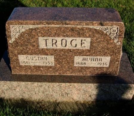 TROGE, ALVINA - Mitchell County, Iowa | ALVINA TROGE