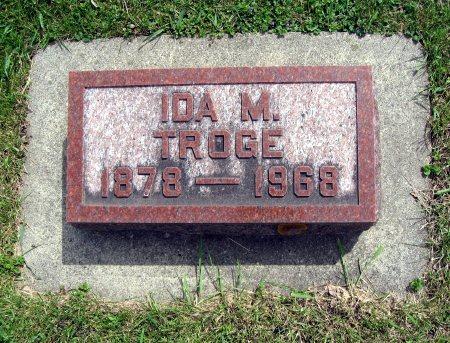 TROGE, IDA M. - Mitchell County, Iowa | IDA M. TROGE