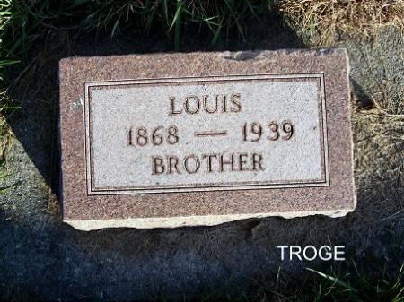 TROGE, LOUIS - Mitchell County, Iowa   LOUIS TROGE