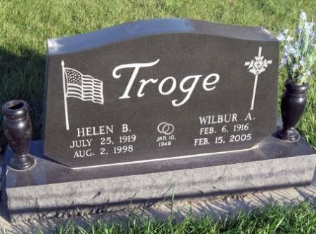 BROCKDORF TROGE, HELEN B. - Mitchell County, Iowa | HELEN B. BROCKDORF TROGE