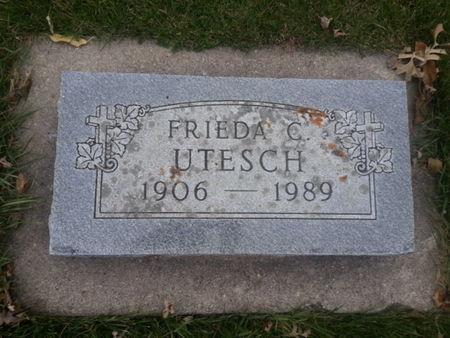 UTESCH, FRIEDA C. - Mitchell County, Iowa | FRIEDA C. UTESCH