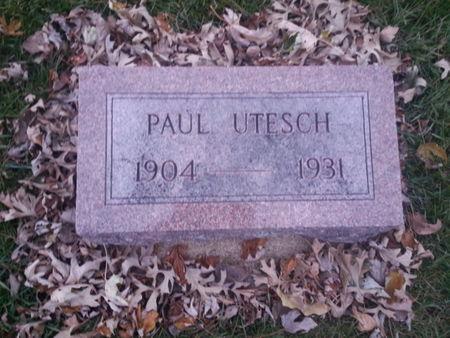UTESCH, PAUL - Mitchell County, Iowa | PAUL UTESCH