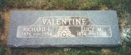 CARBERRY VALENTINE, LUCY MARION - Mitchell County, Iowa | LUCY MARION CARBERRY VALENTINE