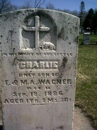 WAGNER, CHARLIE - Mitchell County, Iowa   CHARLIE WAGNER