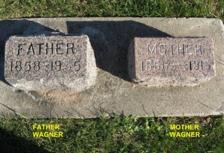 WAGNER, MOTHER - Mitchell County, Iowa | MOTHER WAGNER