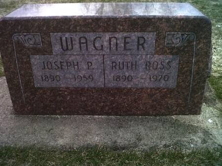 ROSS WAGNER, RUTH - Mitchell County, Iowa | RUTH ROSS WAGNER