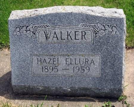WALKER, HAZEL ELLURA - Mitchell County, Iowa   HAZEL ELLURA WALKER