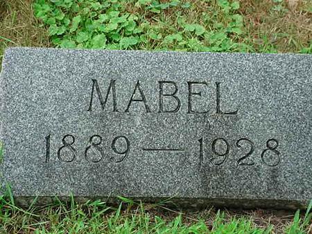 WARRINGTON, MABEL - Mitchell County, Iowa | MABEL WARRINGTON