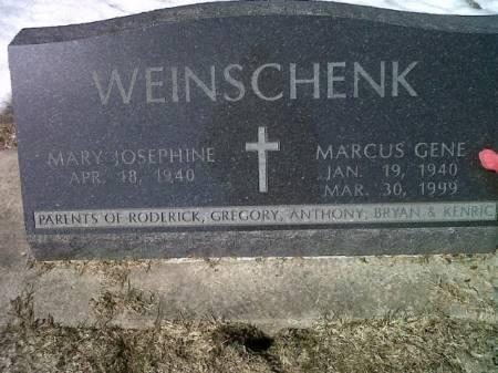 WEINSCHENK, MARCUS GENE - Mitchell County, Iowa   MARCUS GENE WEINSCHENK