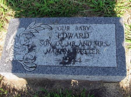 WETTER, EDWARD - Mitchell County, Iowa   EDWARD WETTER