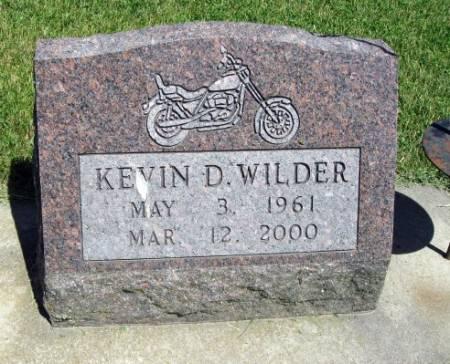 WILDER, KEVIN D. - Mitchell County, Iowa   KEVIN D. WILDER