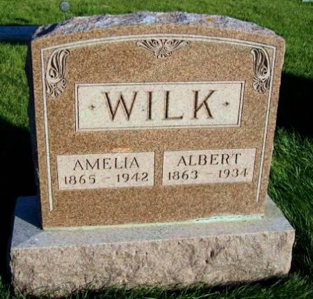 WILK, AMELIA - Mitchell County, Iowa   AMELIA WILK