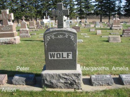 WOLF, PETER (LOT) - Mitchell County, Iowa | PETER (LOT) WOLF