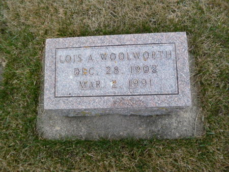 WOOLWORTH, LOIS - Mitchell County, Iowa | LOIS WOOLWORTH