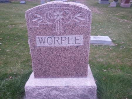 WORPLE, FAMILY STONE - Mitchell County, Iowa | FAMILY STONE WORPLE