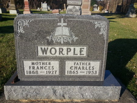 WORPLE, FRANCES - Mitchell County, Iowa   FRANCES WORPLE